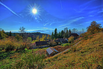 Photograph - Abandoned Village In The Liguria Apennines - Paese Abbandonato Dell'appennino Ligure by Enrico Pelos