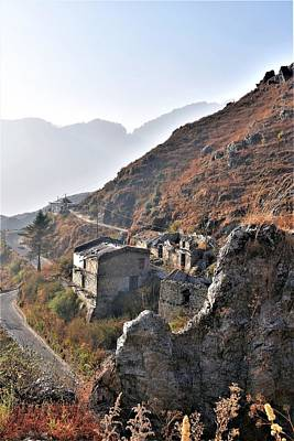 Photograph - Abandoned Village - Road To Mussorie by Kim Bemis