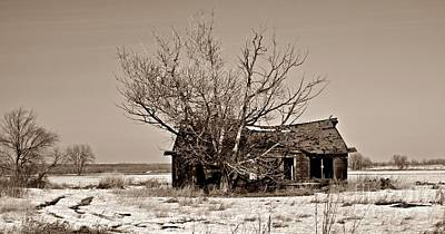 Photograph - Abandonment In Sepia by Chalet Roome-Rigdon