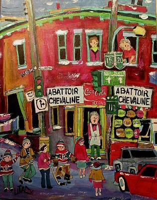 Abattoir Chevaline In The Point Original