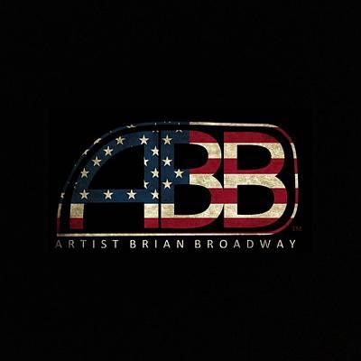 Old Glory Digital Art - Abb Usa by Brian Broadway