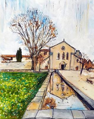 Abbaye De Silvacane Apres Buffet Original