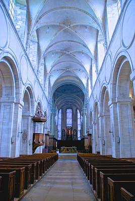 Photograph - Abbaye Mondaye Chapel by Eric Tressler