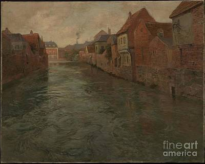 Norwegian Painting - Abbeville  by Celestial Images
