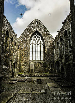 Photograph - Claregalway Franciscan Friary - Ireland by Lexa Harpell
