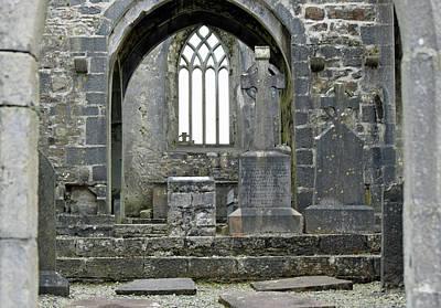 Photograph - Abbey Door by Dawn Richerson