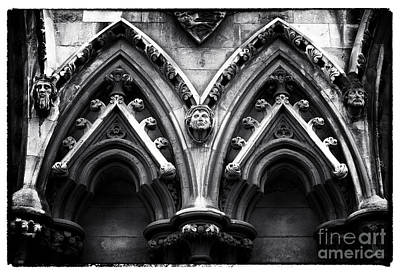 Westminster Abbey Wall Art - Photograph - Abbey Faces by John Rizzuto