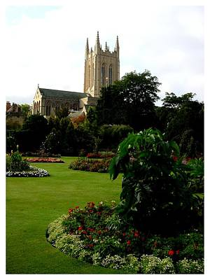 Abbey Gardens Art Print by Frank Wickham