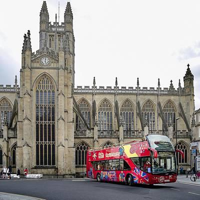 Abbey In Bath, Uk Art Print