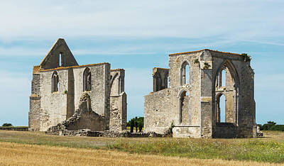 Photograph - Abbey Notre-dame De Re, Re Island, Charente-maritime, France by Jebulon