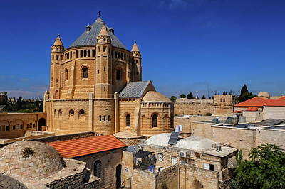 Photograph - Abbey Of The Dormition, Jerusalem, Israel by Elenarts - Elena Duvernay photo