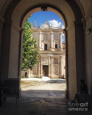 Photograph - Abbey Of The Holy Spirit In Sulmona, Italy by Angela Rath