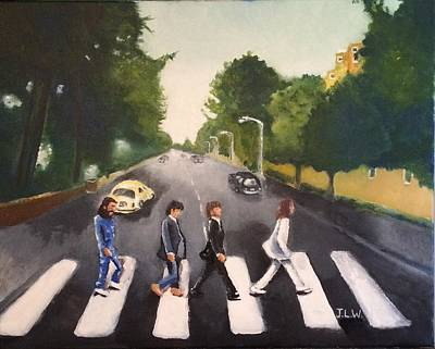 Painting - Abbey Road by Justin Lee Williams