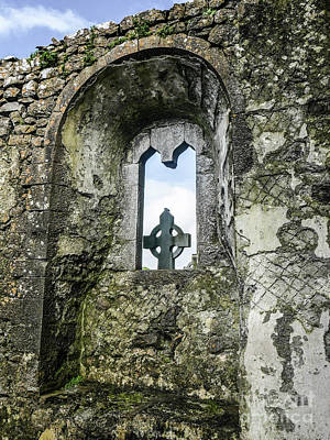 Photograph - Abbey Window by Lexa Harpell