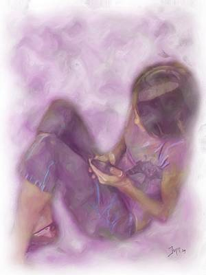 Abbiegayle Art Print by Jeffrey Bland