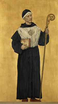 Abbot Of The Eeckhoutten Art Print