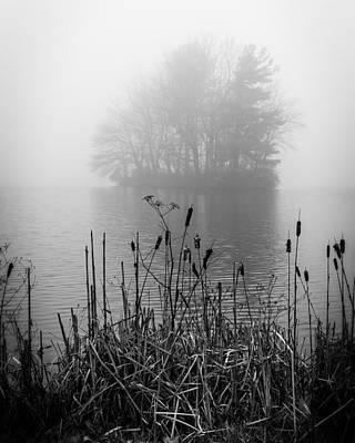 Photograph - Abbot Lake Fog by Alan Raasch