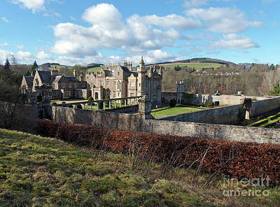 Photograph - Abbotsford - Scottish Borders by Phil Banks