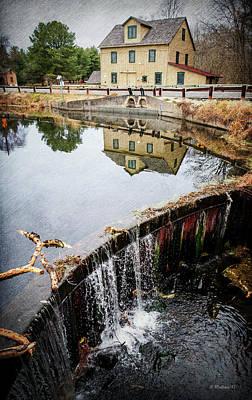 Abbott's Mill Pond Art Print