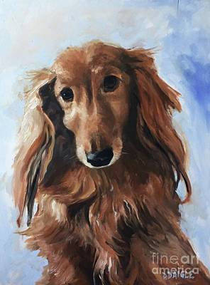 Painting - Abby by Diane Daigle