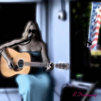 Fort Pierce Inlet Digital Art - Abby Owens Songster by Richard Hemingway