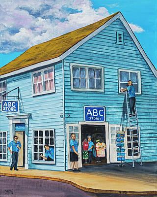 Painting - Abc Store by Darice Machel McGuire