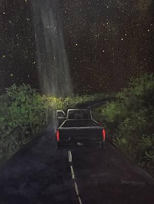 Dodge Truck Painting - Beam by Randy Burns