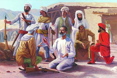 Abdul Ghaffar Khan Art Print by Steve Simon
