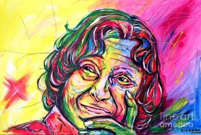 Kalam Painting - Abdul Kalam by Rishabh Ranjan