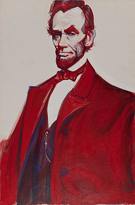 Painting - Abe by John Reynolds