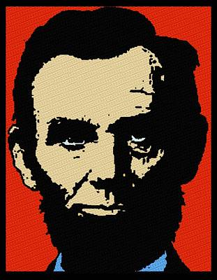 Republicans Mixed Media - Abe Lincoln by Otis Porritt