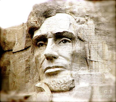 Landmark Photograph - Abe by Nancy TeWinkel Lauren