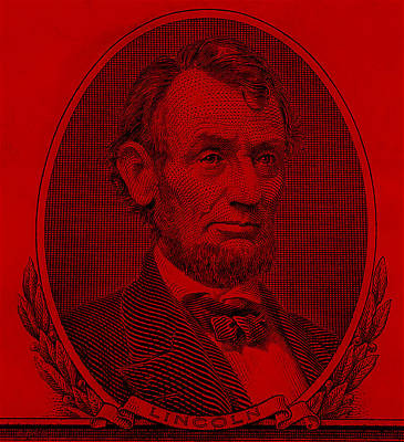 Art Print featuring the photograph Abe On The 5 Red by Rob Hans