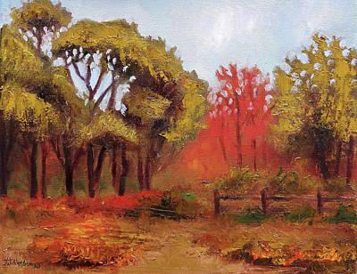 Abeel Fields Art Print