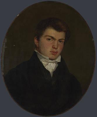 Abel Widmer Art Print by Eugene Delacroix