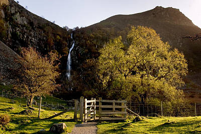 Photograph - Aber Falls by Peter OReilly
