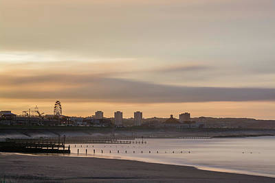 Photograph - Aberdeen Beach At Sunset by Veli Bariskan