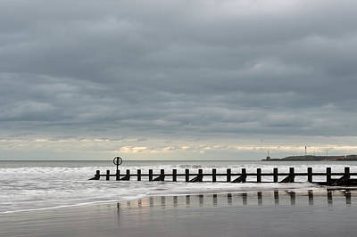 Photograph - Aberdeen Beach In A Mood by Veli Bariskan