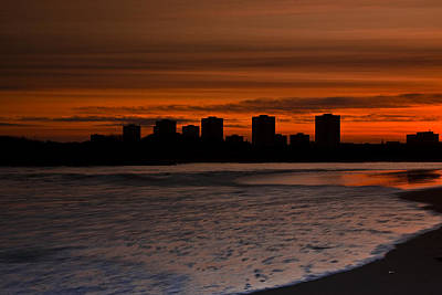 Aberdeen By Sunset Art Print