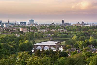 Photograph - Aberdeen On A Summer Evening by Veli Bariskan