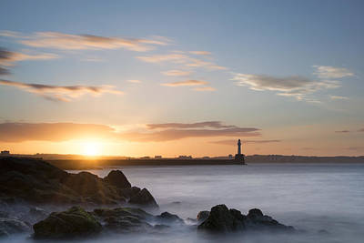 Photograph - Aberdeen Sunset by Veli Bariskan