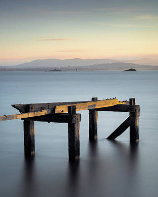Photograph - Aberdour Pier by Dave Bowman
