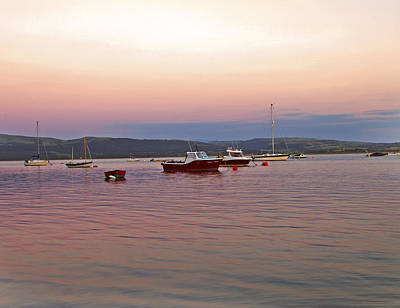 Photograph - Aberdovey Moorings. by Paul Scoullar