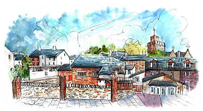 Painting - Abergavenny 01 by Miki De Goodaboom