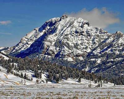 Photograph - Abiathar Peak by Anthony Dezenzio