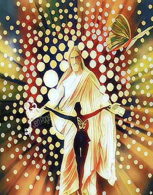 Abide Art Print