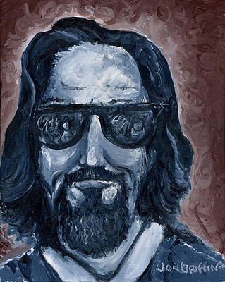 Lebowski Painting - Abiding by Jon Griffin
