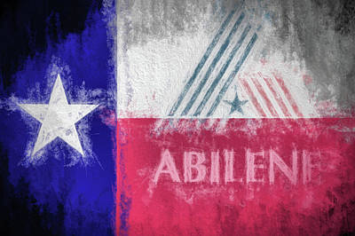 Digital Art - Abilene Texas by JC Findley