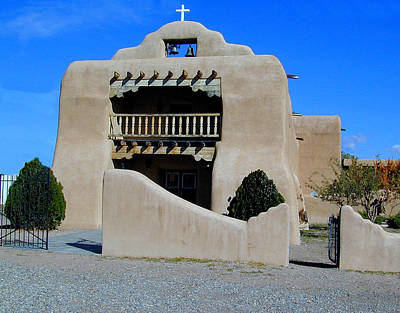 Photograph - Abiquiu Church Number 1 by Joseph R Luciano