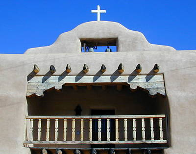 Photograph - Abiquiu Church Number 2 by Joseph R Luciano